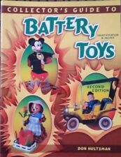 ANTIQUE TOY BATTERY OPERATED VALUE GUIDE COLLECTOR'S REFERENCE BOOK