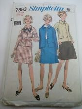 45c22f1a7f9 Simplicity 1960s Collectable Sewing Patterns for sale | eBay