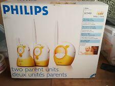 PHILIPS SCD450 BABY MONITOR Écoute-bébé analogique