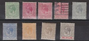 Bahamas KGV SG81 - 87 Part Set CV£17 Mixed Condition as per images