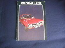 Vauxhall 1971 Brochure