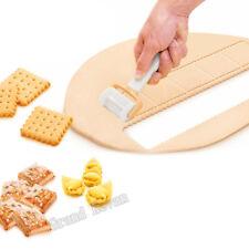 Fondant Cutter Plastic Icing Spatula Cookie Mold Rolling Biscuit Dough Cutter