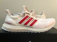 Adidas Ultra Boost 1.0 DNA Indiana Hoosiers Oatmeal Red FY5807 100% Authentic