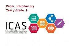 ICAS Paper Introductory - Year / Grade 2 - English/Math/Science/Spelling