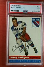 1954 Topps ANDY BATHGATE #11 PSA 5 EX *great investment hockey card* DD7