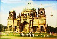 Imán Berlín Alemania Dom, Recuerdo, 8CM, Nuevo