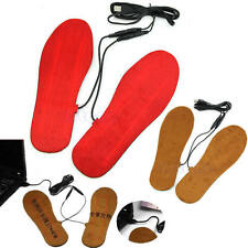 Protable USB Electric Powered Heated Insoles For Shoes Boots Keep Feet Warm