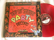 """R.CRUMB Cheap Suit Serenaders Party Record My Girl's Pussy 78 rpm 12"""" RED vinyl"""
