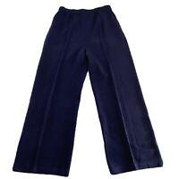 St. John Collection Womens Santana Pull On Wool Blend Straight Leg Pants 6