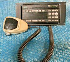Motorola Radio Astro Spectra Control Head W9 Hcn1078 Systems 9000 Amp Speaker Mic