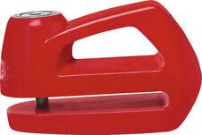 Abus Sicurezza Moto Elemento 285 Rosso Blocca Disco 5mm [55971 6]