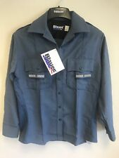 Blauer 8460W Long Sleeve Supershirt Womens French Blue Heather Size Medium