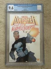 Punisher Kills the Marvel Universe CGC 9.6 2nd print Dillon Cover HTF New case