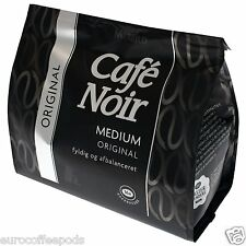 Douwe Egberts Senseo Café Vainas Cafe Noir medio, arábica vainas del café, 16