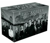 LAW AND ORDER COMPLETE DVD SERIES SEASONS 1-20 DELUXE BOX SET