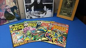 Marvel triple-action Avengers reprints marvel comics 80s copper age lot plus 2