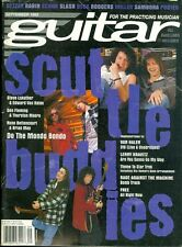 1993 Guitar Magazine: Scuttle Buddies/Steve Lukather & Edward Van Halen/Fleming