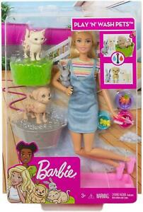 Barbie Plan & Wash Pets Doll and Playset FXH11