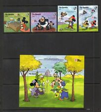 "The Gambia - ""Phila Nippon '91"" lot - MNH - Disney Topical"