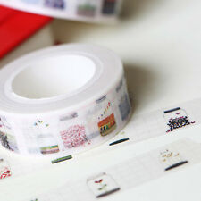 DIY Désireux de bouteille Washi Masking Tape Adhésif Rouleau Carte Décorative