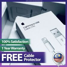 (1 Year Warranty) Original iPhone Cable Lightning To USB For IPhone IPad IPod.