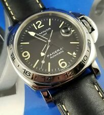 VINTAGE 1997 PANERAI PAM00023 LUMINOR GMT AUTOMATIC BOX & PAPERS PAM 23 A SERIES