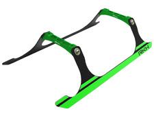 Rakon Blade 230S CNC Landing Gear Set (Black-Green) - 230S721-BG