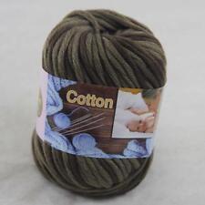 Sale 1Ball x50g Super Soft Cotton Chunky 16 Ply DIY Hand Wrap Shawl Knit Yarn 42