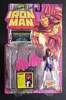 Toy Biz Spider Woman Action Figure 1994 Iron Man Series - Mandarin Package Error