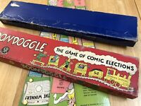 Boondoggle: The Game of Comical Elections 1951 Very Rare Collectors Find Bid Now