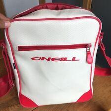 O'Neill Retro Flight Bag  shoulder/ festival/ hand cross body bag red