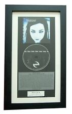 EVANESCENCE Fallen CLASSIC CD Album TOP QUALITY FRAMED+EXPRESS GLOBAL SHIPPING!!