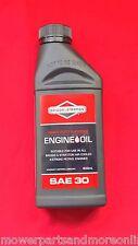 BRIGGS 600ml SAE30 4 STROKE MOWER ENGINE OIL ALSO FOR KOHLER, HONDA, KAWASAKI