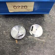 20 x Aluminium Alu Ausschußteile 200 g, Durchm. 35 mm, Höhe 8 mm (0220)