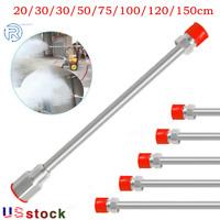 Universal Airless Paint Sprayer Spray Gun Tip Extension Pole Rod 20-150cm