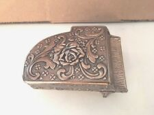 Vintage Brass Lined Grand Piano Jewelry / Trinket Box, Free Shipping