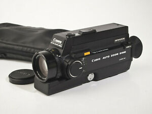 Canon Auto Zoom 318M Super 8 Movie Camera - fully working - tested - mint-