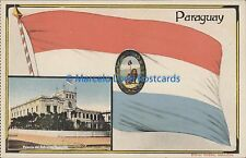 PARAGUAY ASUNCION PALACIO DEL GOBIERNO Y BANDERA 104568