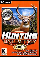 HUNTING UNLIMITED 2009   HUNT YOUR WAY ACROSS NORTH AMERICA! FAST  FREE SHIPPING