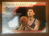 2003-04 Upper Deck Finite Elements Jerseys Basketball Card #FJ15 Yao Ming