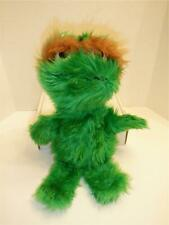 "Rare Sesame Street Vintage Knickerbocker 15"" plush Oscar the Grouch - Green"