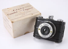 KING SALES CINEX MODEL G, USES 127 FILM, BOXED, SHUTTER PROBLEM/cks/189179