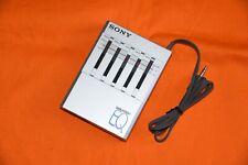 Sony Seq-50 Walkman EQ Stereo Graphic Equalizer 1980 For Sony WM-D6C