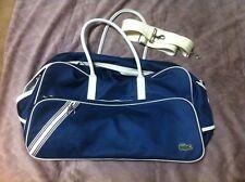 Lacoste Travel Bag Cabin Size 70cm-40cm-21cm Waterresistant Unisex Used