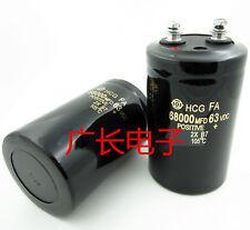 1PCS HITACHI HCG FA 63V 68000UF Electrolytic Capacitor 50X80mm 105℃ #G6409 xh