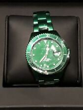 Toy Watch Metallic Aluminum Green