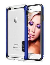 iPhone 6 6S Case 4.7 Inch All Side Protective Bumper Soft TPU Blue Black White