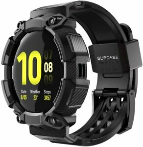For Samsung Galaxy Watch Active 2, SUPCASE Rugged Band Case Cover Watch Strap UK