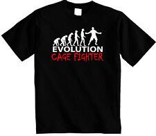 Cage Fighter T-shirt   Evolución de lucha jaula Unisex Camiseta Mma Ufc