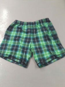 Carter's Just One You green plaid pajama bottoms sz 5T